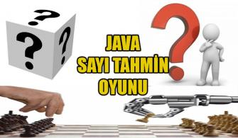 Java-İle-Sayı-Tahmin-Oyunu