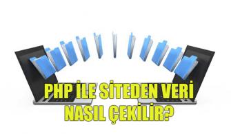 Php-ile-Websiteden-Veri-Çekme