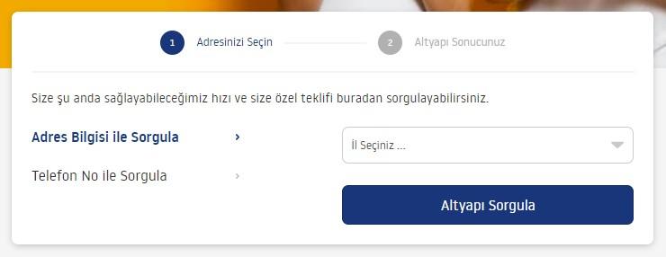 TurkNet Altyapı Sorgulaması Nasıl Yapılır